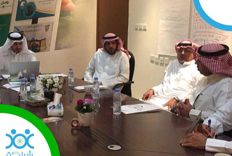 توقيع عقد تنفيذ مشروع البناء المؤسسي للجمعية